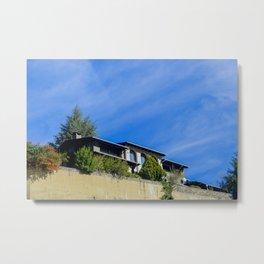 Andorra House Metal Print