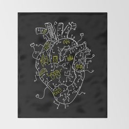 Gaming Control Tools | Heart Throw Blanket