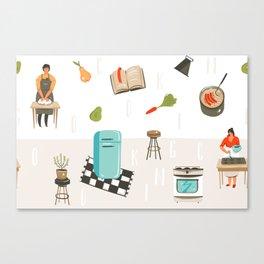 Cooking Mama Canvas Print