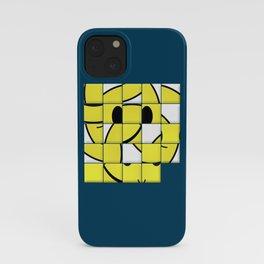 Acid Smiley Shuffle Puzzle iPhone Case