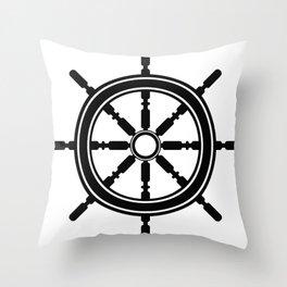 Anchors Aweigh 2 Throw Pillow