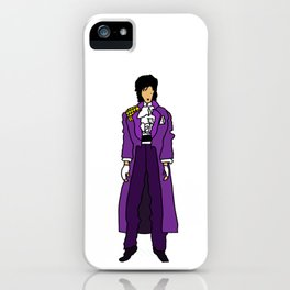 Ultraviolet Purple One 5 iPhone Case