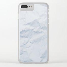 Paper Clear iPhone Case