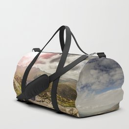 Ireland Mountain Landscape Panorama Duffle Bag