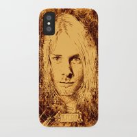kurt cobain iPhone & iPod Cases featuring 27 Club - Cobain by MUSENYO