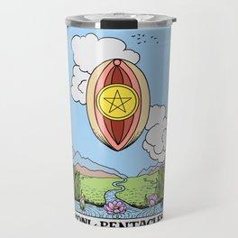 Yoni of Pentacles Travel Mug
