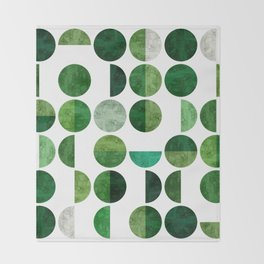 Minimalist pattern I Throw Blanket