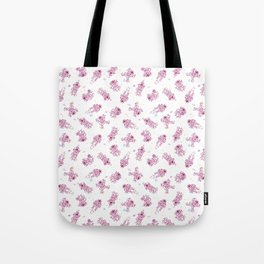 Cosmic Stranger Pattern in Pastel Tote Bag