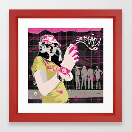 je taime Framed Art Print