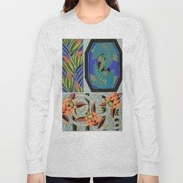 Vintage Art Deco design Long Sleeve T-shirt