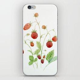 Wild Strawberries iPhone Skin