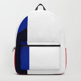 France Flag Circle Backpack