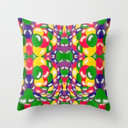 Spherical things Throw Pillow