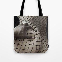 Body Stocking Tote Bag