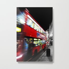 double decker Metal Print
