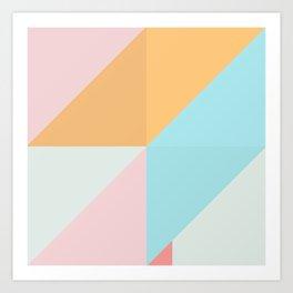 Geometric Pattern XVI Art Print