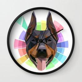 Dobie Wall Clock