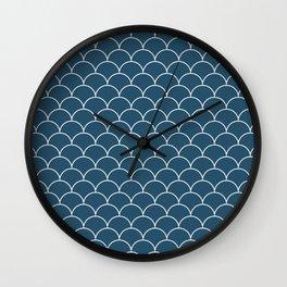 Escamas petróleo Wall Clock