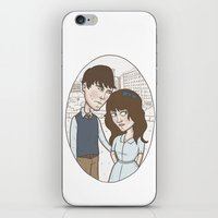 500 days of summer iPhone & iPod Skins featuring 500 days of summer portrait. by Nic Lawson