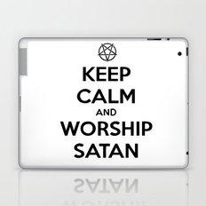 Keep Calm and Worship Satan Laptop & iPad Skin