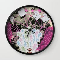 ghostbusters Wall Clocks featuring Ghostbusters by Naomi Vona
