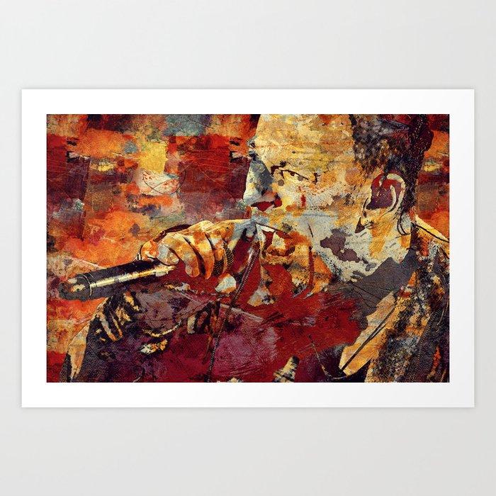 We Will Rock You Art Print