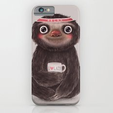 Sloth I♥lazy iPhone 6 Slim Case