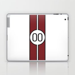 racing stripe .. #00 Laptop & iPad Skin