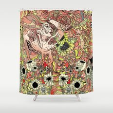 Comes in Three Shower Curtain