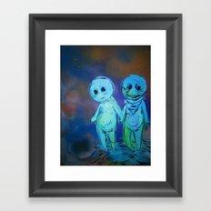 lil sprites Framed Art Print