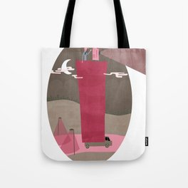 A Traveling Cinema Tote Bag