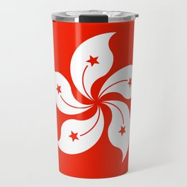 Flag of hong kong Travel Mug