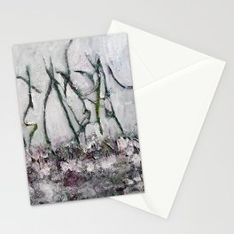 Dancing trees of Canadian Shield by Machale O'Neill Stationery Cards