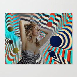 Another Girl, Another Planet Canvas Print