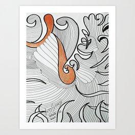 OTOÑO 10 Art Print
