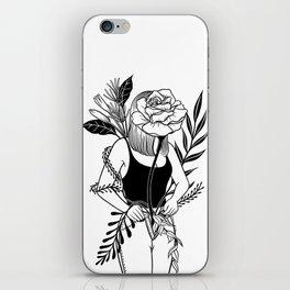 Let me bloom Ⅱ iPhone Skin