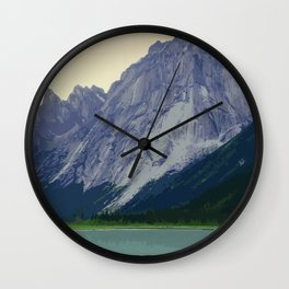 Nahanni National Park Poster Wall Clock