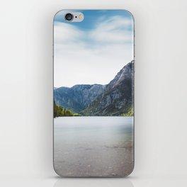 Lake Bohinj, Slovenia iPhone Skin