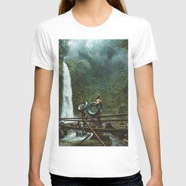 Adult adventure beauty mountain T-shirt
