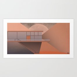 Canyon House Art Print