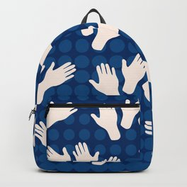 Waving Hands Backpack
