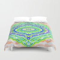 geology Duvet Covers featuring Geology by Smiley's Dreamboat