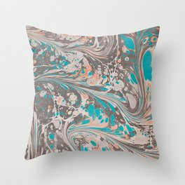 Marble Print #3 Throw Pillow