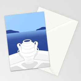 Santorini #03 Stationery Cards