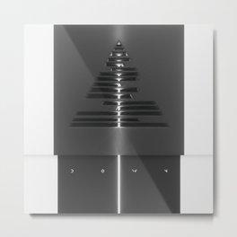 DOWN Metal Print