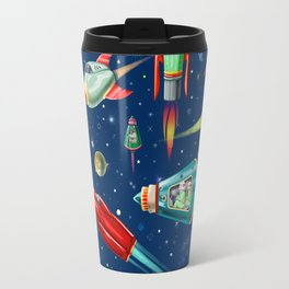 rockets in traffic Travel Mug