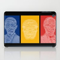 putin iPad Cases featuring Snowden Triptych by Jean-Philippe Côté