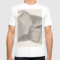 traditional jewellery White Mens Fitted Tee MEDIUM