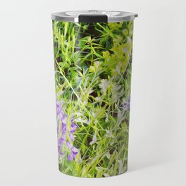 Wild Delphinium Bliss Travel Mug