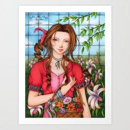 Aerith Art Print